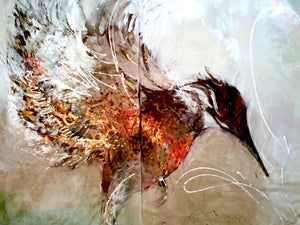 Kingfisher | Mixed Media | 8' x 11'