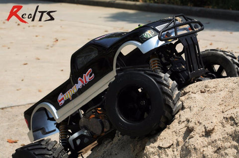 RealTS FS Racing 1/4 scale 4X4 35CC GAS Monster truck remote control car RC with transmitter RTR Free shipping