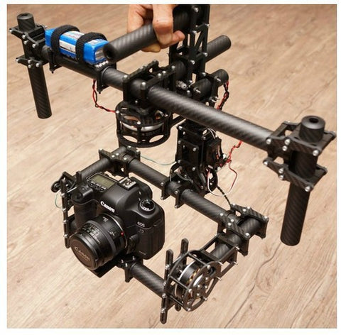 FPV DYS DSLR 3 axis Brushless Gimbal /handle camera gimbal with new 180T motor