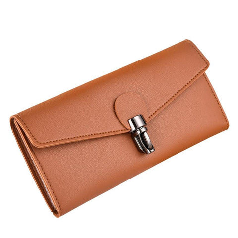 Xiniu nubuck leather women wallets female fashion zipper Capacity Leather Clutch long wallets with clip #5M