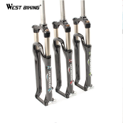 WEST BIKING Ultralight 26inch Cycling Bike Fork 28.6mm Diameter Bicicleta Ciclismo Mountain Bike Parts MTB Cycling Bicycle Fork