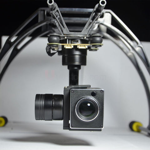 Pro 3-axis 18x 1080p Full HD Zoom PWM control Gimbal Optical Zoom Aerial Camera SPECS  Long Distance Zoom