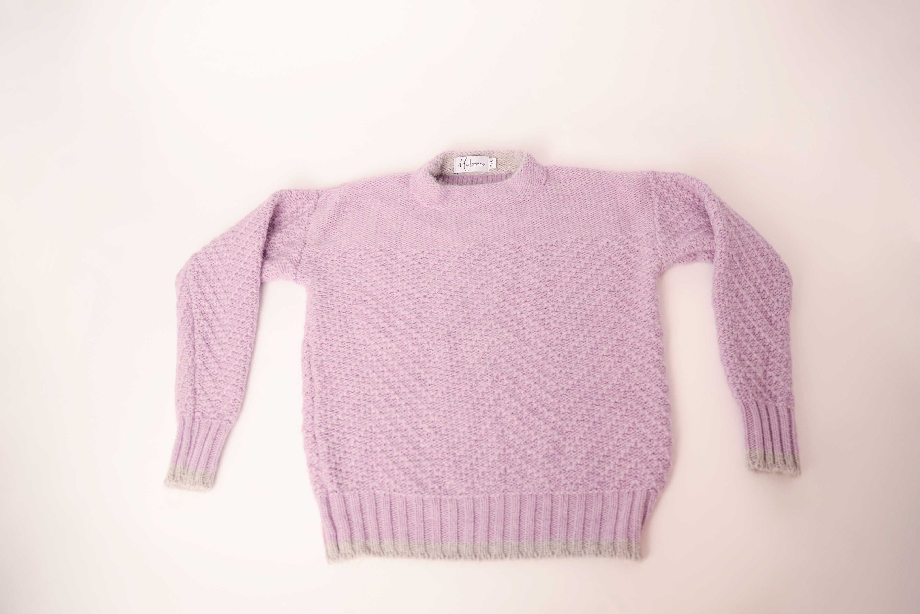Pull en tricot grosse maille Maillagogo | F1920