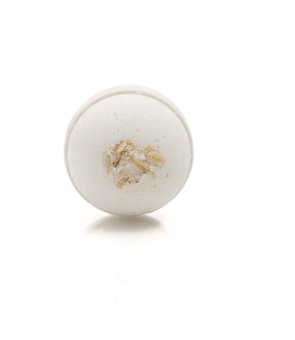 Bath Bomb Saponaria | Honey, milk & oat