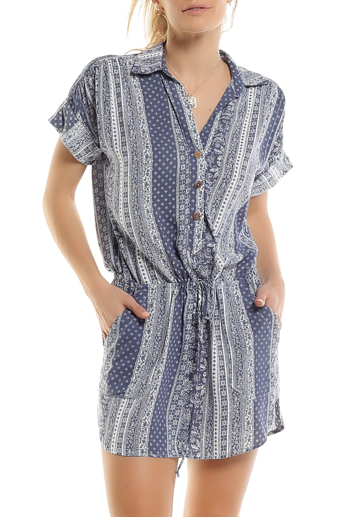 SAVANNAH SHIRT DRESS - NEW NEW