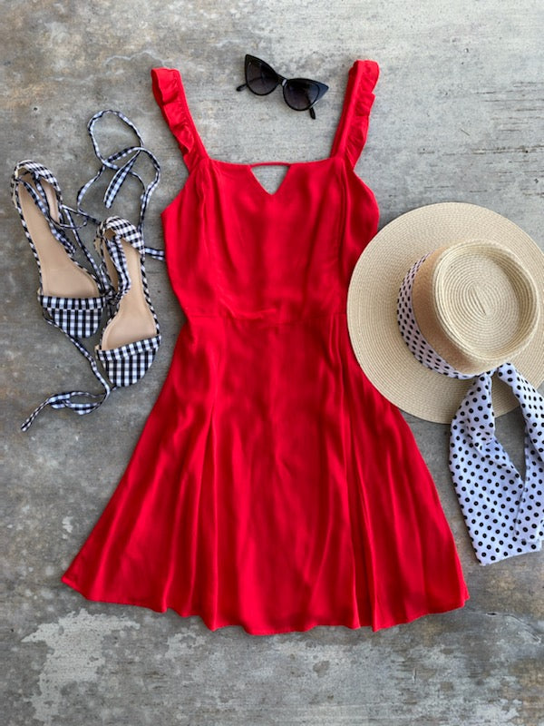 FALL'IN FOR YOU DRESS