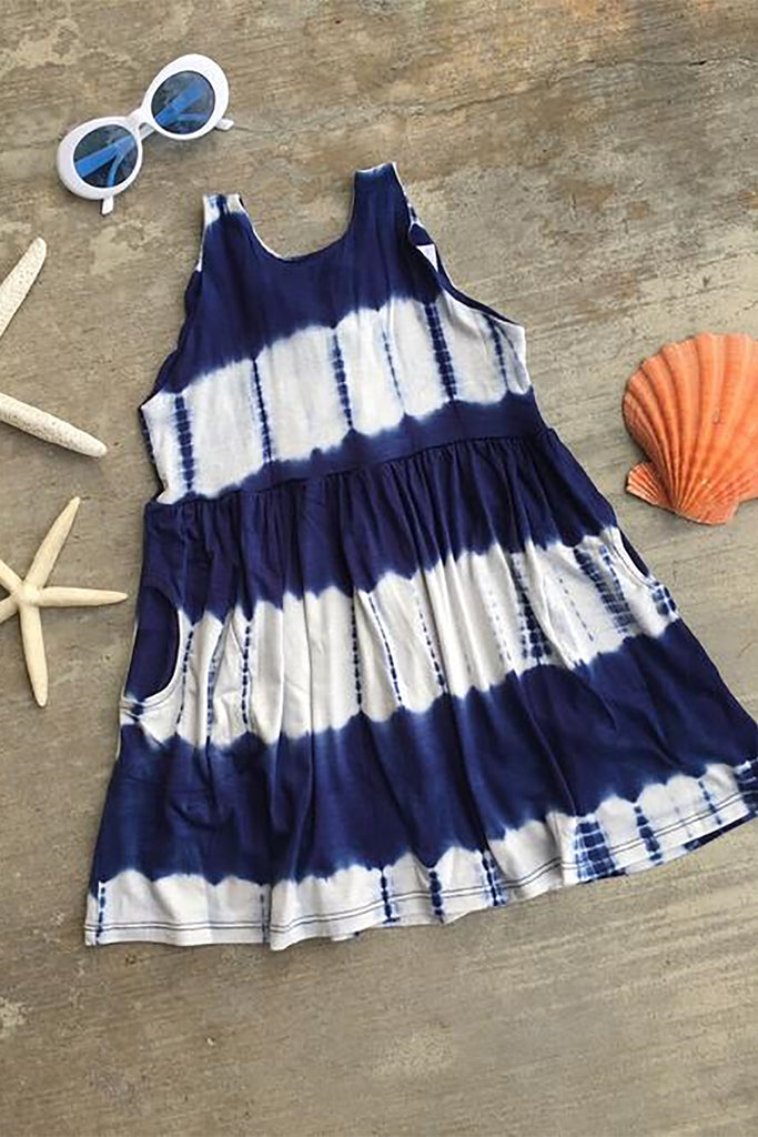 KID'S TIE-DYE ZEN ISLAND DRESS