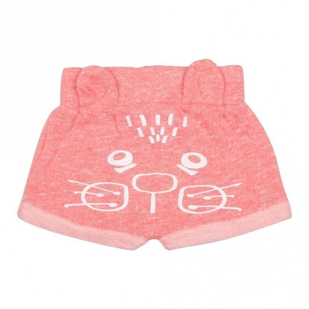 Baby Girl Kitten Animal Bottoms, Pink