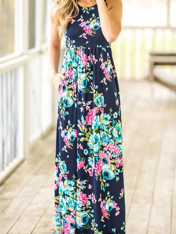 Autumnal Love Maxi Dress