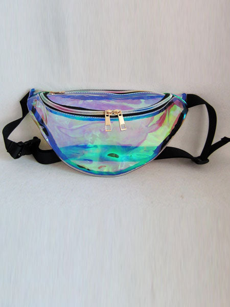 Glossy Glittery Belt Bag