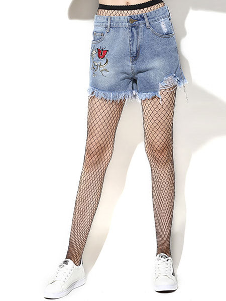 Butterfly Jeans Shorts