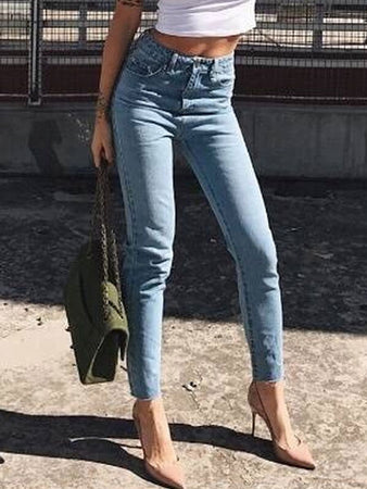 Ripped Hip Jeans Pants