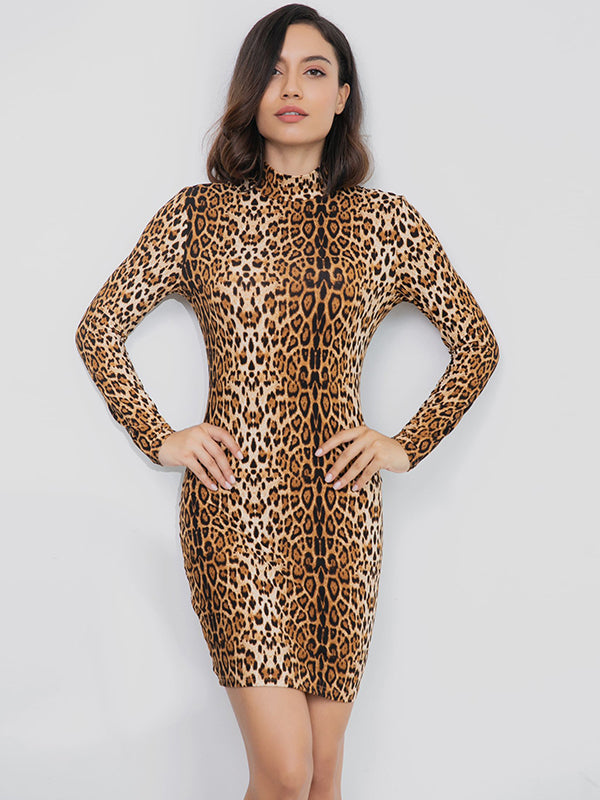 Wild Lock Bodycon Dress