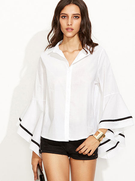 Off The Grill Boho Blouse Top