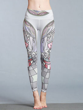 Achieving Goal Yoga Leggings