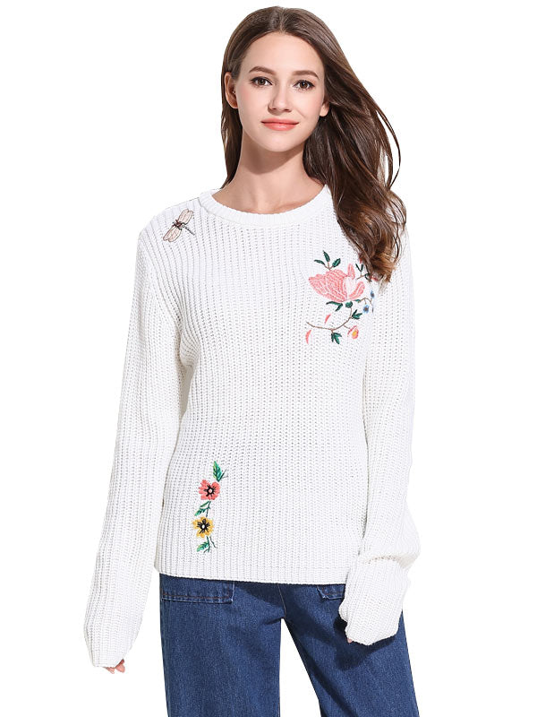 Mostly Floral Sweater