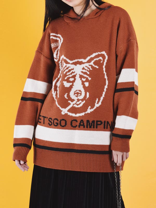 Cold-Hearted Bear Sweater
