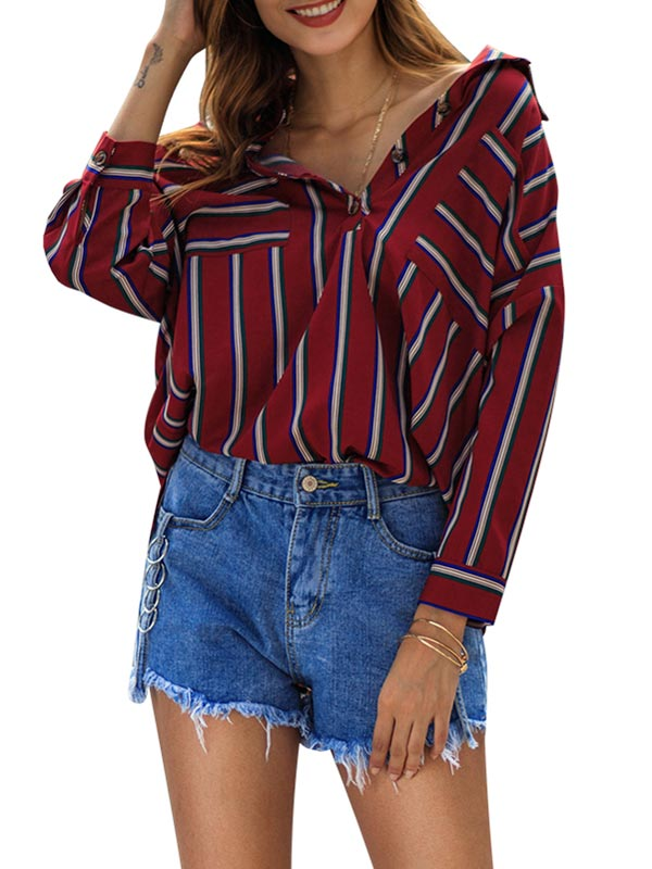 Retro stripe Shirt