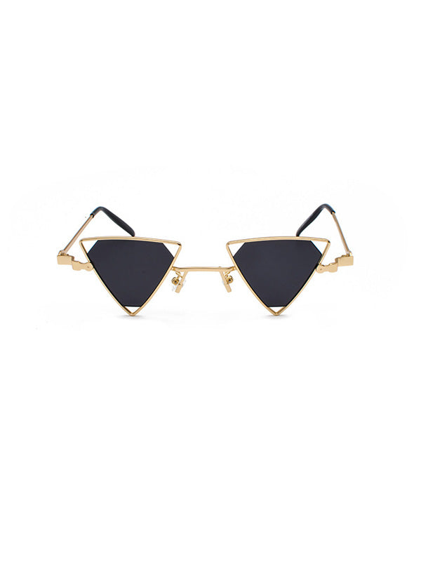 Triangle Retro Sunglasses