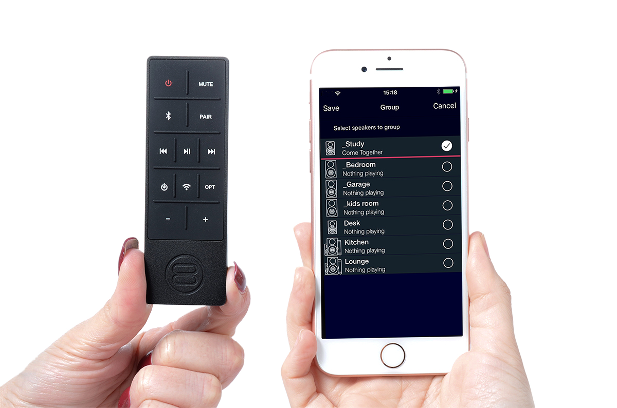 Silverpoint SP2 remote control and StreamQ App