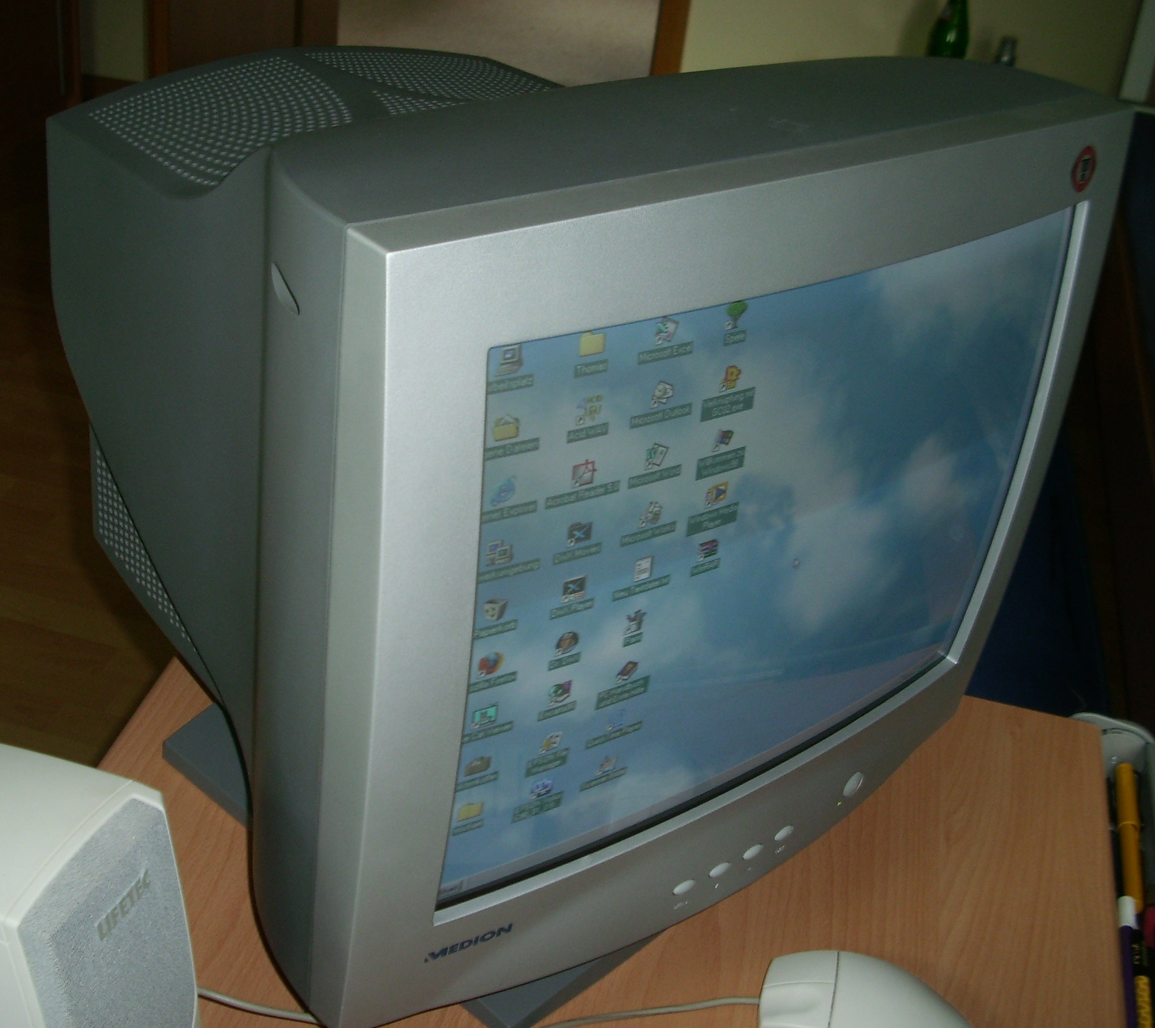 Medion CRT monitor