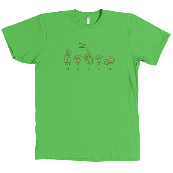 Sign Language Shirt