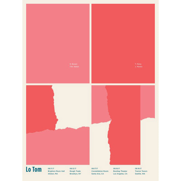 Lo Tom Screen Printed Poster