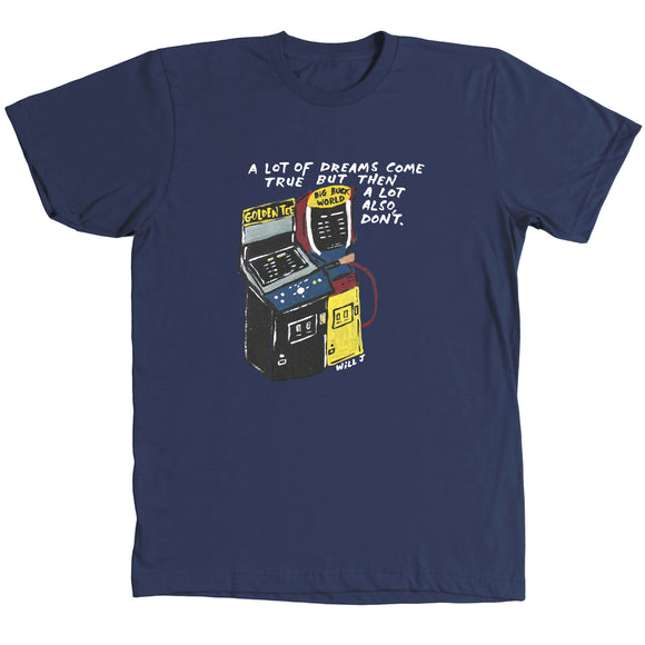 Dreams Come True Shirt - Navy Blue