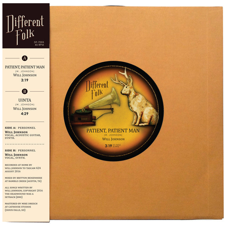 "Different Folk Limited Edition 7"" Vinyl"