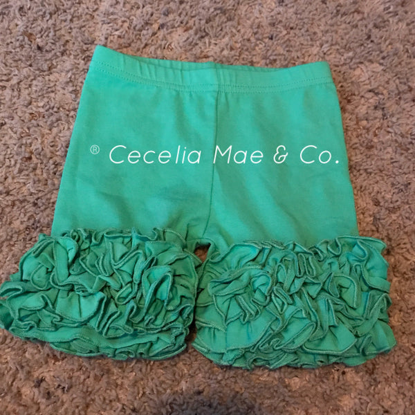 Icing Shorts - Mint Green