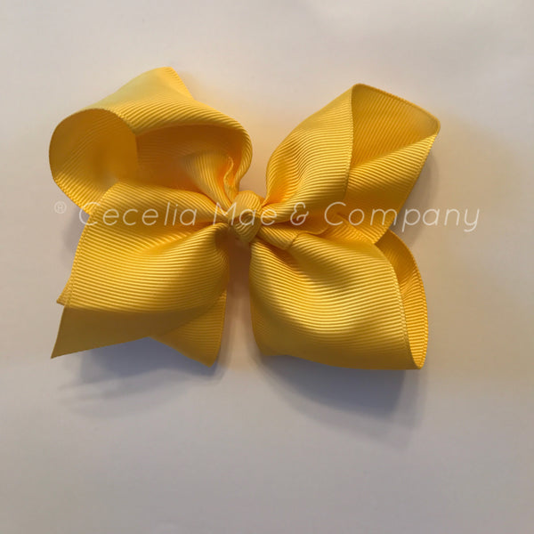 "4.5"" Bow Yellow"