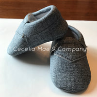 Mocassins Heather Grey
