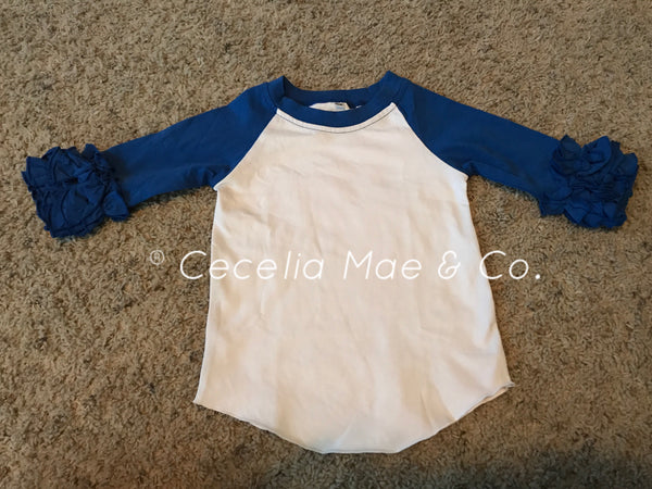Raglan - Royal Blue