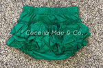 Green Ruffle Bloomers