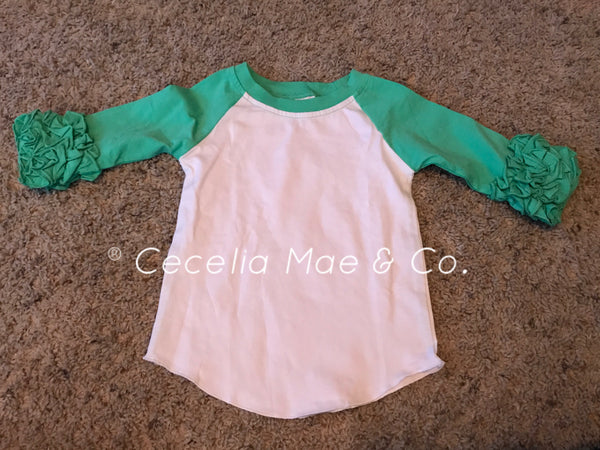 Raglan - Mint Green