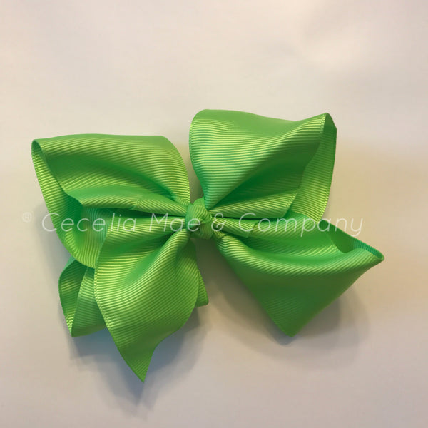 "4.5"" Bow Lime Green"
