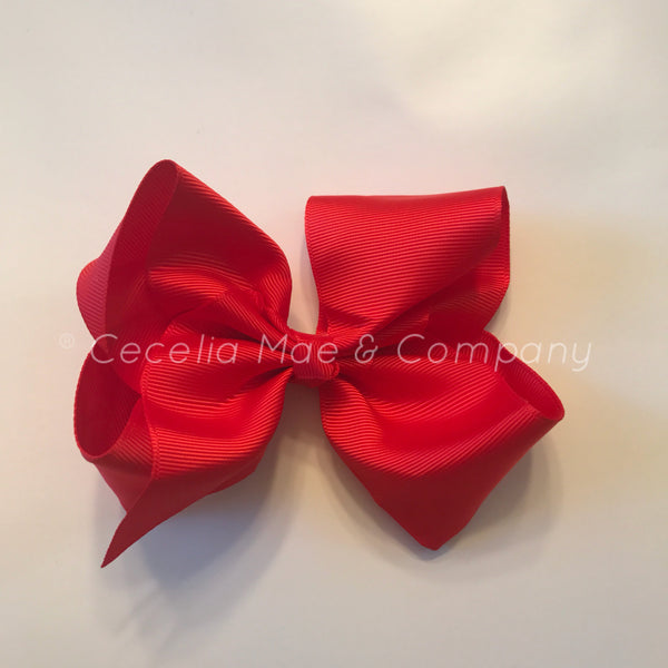 "4.5"" Bow  Red"