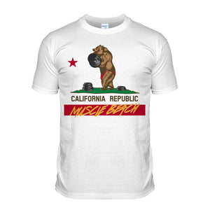 California Muscle Beach Tee