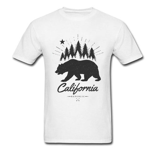 California Wilderness White Tee