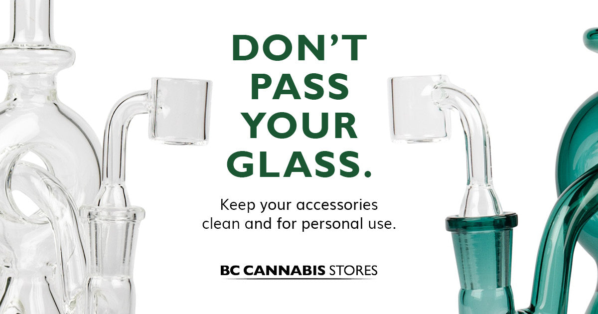 Responsible consumption: Tips for using glass accessories safely