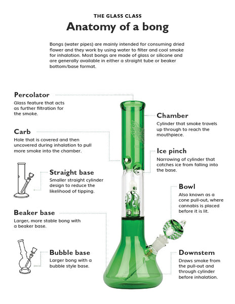 Anatomy of a bong