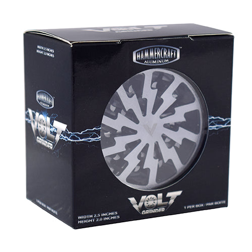 4-PIECE VOLT GRINDER - LARGE