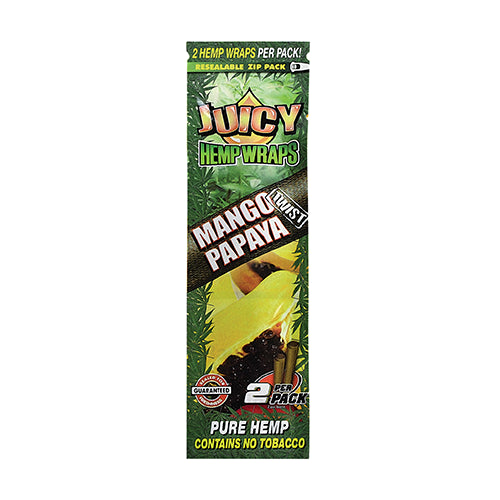 MANGO PAPAYA TWIST HEMP WRAPS