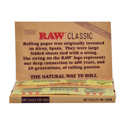 CLASSIC ROLLING PAPERS - SINGLE WIDE