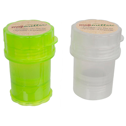PORTABLE STORAGE CANISTER WITH GRINDER