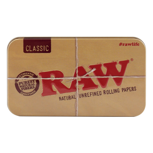 RAW STORAGE TIN