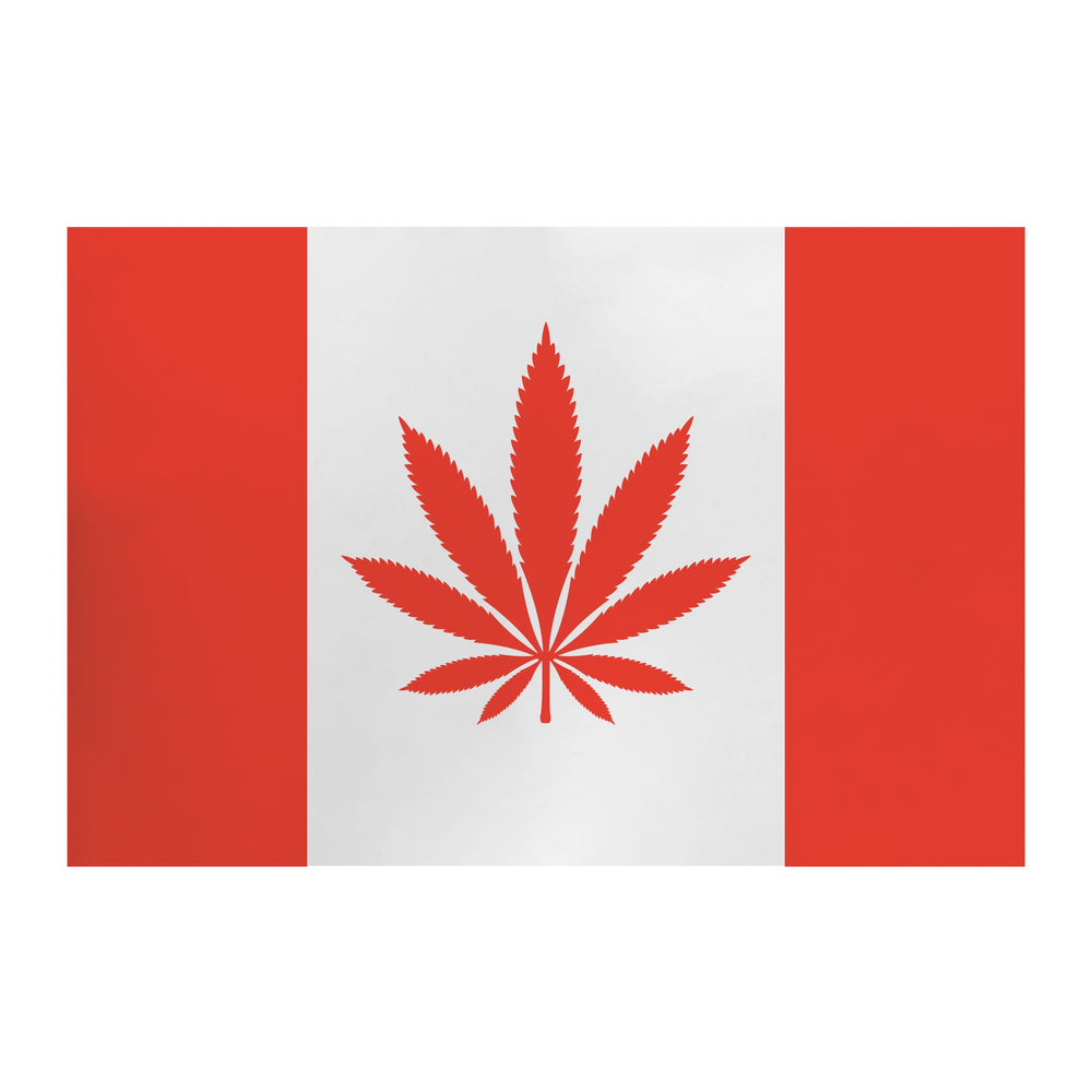 "MY DAB MAT CANADA LEAF 11"" X 8.5"" 1.5MM"