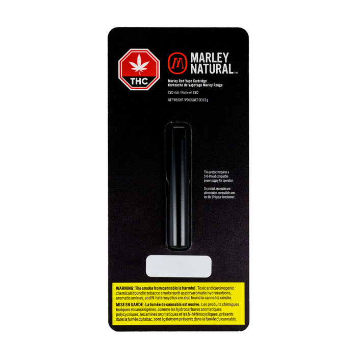MARLEY NATURAL RED VAPE CARTRIDGE