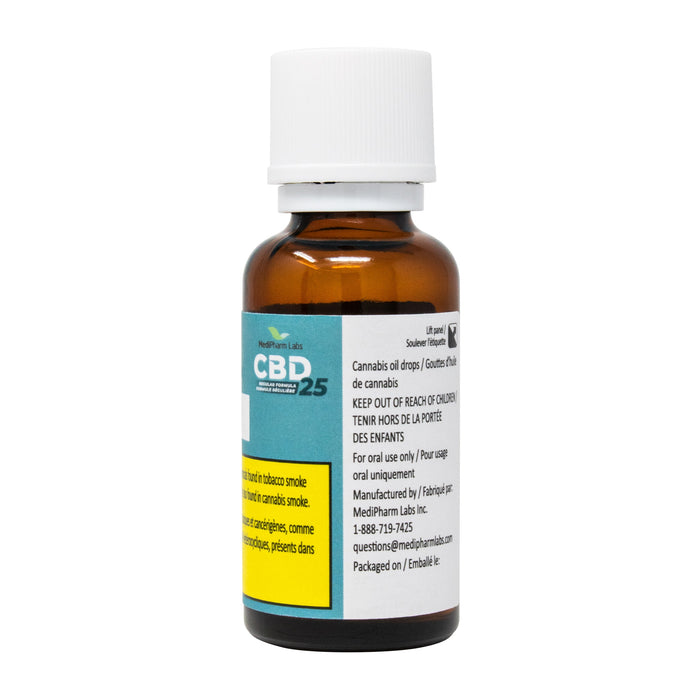 CBD 25 REGULAR FORMULA
