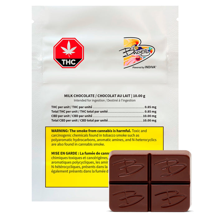 CBD MILK CHOCOLATE